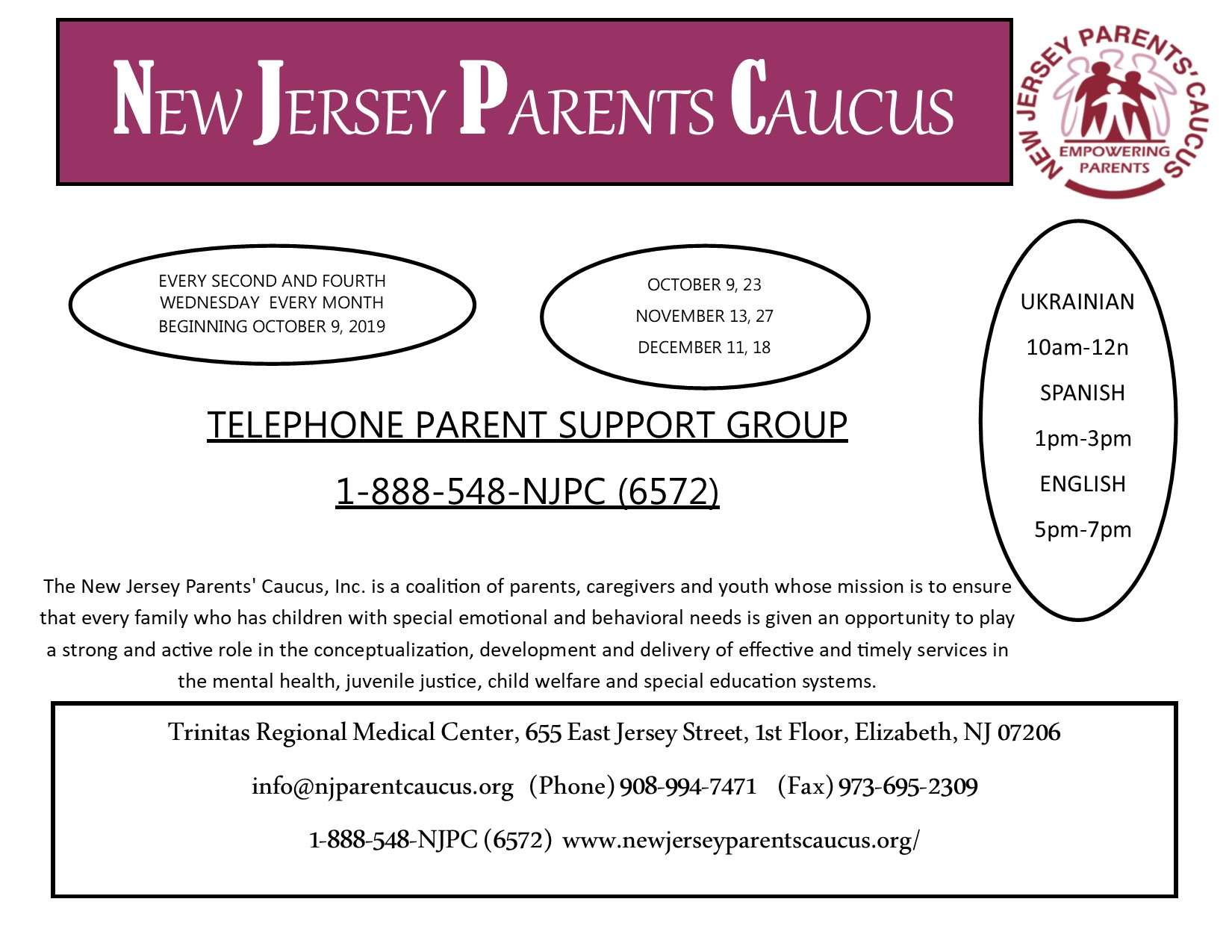 2019parentsupportgroup2019